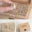 ชุดปั๊มกล่องไม้ cat Stamp Set Ver.2 thumbnail 2