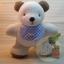 ตุ๊กตาหมีผ้าขนหนูขนาด 20 cm. - HBD Baby Boy thumbnail 4