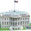 จิ๊กซอ 3 มิติ ทำเนียบขาวแบบเปล่งแสง(The White House LED )(No.L504h) thumbnail 5