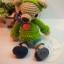 ตุ๊กตาหมีถักขนาด 15.5 cm. - PiPo smile thumbnail 4
