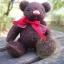 ตุ๊กตาหมีขนสีน้ำตาลเข้มขนาด 16 ซม. - DoBear thumbnail 3
