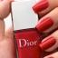 ตกแต่งเล็บ Dior Vernis Nail Lacquer สี 747Trafalgar (ไซด์ขายจริงไม่มีกล่อง) สีแดงอมส้มสว่าง เนือเบาแต่ให้การเคลือบเงาที่กระจายแสงได้ดี เนื้อสีแน่นแต่ไม่หนักหรือหนาเลย thumbnail 4