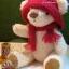 ตุ๊กตาหมีผ้าขนสีครีมขนาด 23 cm. - Bloom thumbnail 5