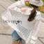 เสื้อคลุมผ้าลูกไม้ตกแต่งระบายสีขาว thumbnail 2
