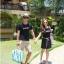 ชุดคู่รัก สีน้ำเงิน thumbnail 1
