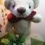 ตุ๊กตาหมีผ้าขนสีครีมขนาด 23 cm. - Bloom thumbnail 6