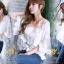 เสื้อคอวีผ้าลูกไม้เกาหลี ปลายเป็นผ้ามุ้ง thumbnail 2