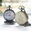 ชุดนาฬิกาสังฆทานสำหรับพระภิกษุสีทองเหลืองขัดเข้มระบบถ่านควอทซ์ เพลาบุญ (พร้อมส่ง)