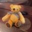 ตุ๊กตาหมีผ้าขนสีน้ำตาลทองขนาด 10 cm. - Muffin thumbnail 2