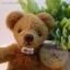 ตุ๊กตาหมีผ้าขนสั้นน้ำตาลกลาง ขนาด 11 cm. - Tubbyted thumbnail 2