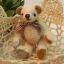 ตุ๊กตาหมีผ้าขนสีครีม ขนาด 8 cm. - Getty thumbnail 1
