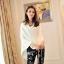 กางเกงแฟชั่นเข้ารูปสีดำสกรีนลายดอกกุหลาบเพิ่มความเด่นให้กับคนใส่นะค่ะ เหมาะกับคนไซส์เล็กค่ะ thumbnail 7