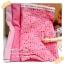 JUNE58.Pack39 : ผ้าจัดเซต 2 ชิ้น ผ้าอมริกาลายจุด +ผ้าพื้นเนื้อดีในไทยขนาด แต่ละชิ้น 27 X50 cm thumbnail 1