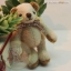 ตุ๊กตาหมีผ้าขนสีครีม ขนาด 8 cm. - Getty thumbnail 4