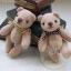 ตุ๊กตาหมีผ้าขูดขนสีโอวัลติน ขนาด 9 cm. - Good thumbnail 4