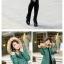 เสื้อกันหนาวแฟชั่นสวยๆสำหรับใส่ไปเมืองนอก/เมืองเหนือ พร้อมส่งสีเบจ นะคะ ไซส์ L thumbnail 5