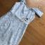ชุดเดรสผ้าลูกไม้สีฟ้า thumbnail 6