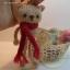 ตุ๊กตาหมีถักขนาด 12 cm. - Olive (red brown) thumbnail 3