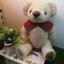 ตุ๊กตาหมีผ้าขนสีครีมขนาด 23 cm. - Bloom thumbnail 4