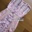 มินิเดรสผ้าลูกไม้สีชมพูพาสเทลสไตล์เฟมินีน thumbnail 8