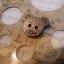 กระดุมไม้รูปหัวหมีขนาด 15 mm. thumbnail 3