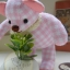 ตุ๊กตาหมีผ้าลายสก๊อตสีชมพูขนาด 9.5 cm. - Niza thumbnail 3