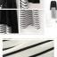 แม็กซี่เดรสแฟชั่น เซต 2 ชิ้น เดรสแขนกุดลายขาวสลับดำ+เสื้อคลุมผ้าลูกไม้สีดำ ตามภาพคะ thumbnail 5