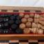 ชุดกระดานหมากรุกไทยไม้ก้ามปูพกพาพร้อมตัวหมากชุดใหญ่ (ขนาด38.5x42 cm) thumbnail 7