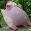 ตุ๊กตาหมูผ้าขนหนูสีชมพู ขนาด 33 cm. - Piggato thumbnail 4