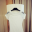 พร้อมส่ง เสื้อยืดสีขาว thumbnail 11