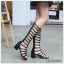 (พร้อมส่ง)รองเท้าคัทชู ส้นสูง แฟชั่น ราคาถูก มีไซด์ 35