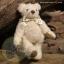 ตุ๊กตาหมีผ้าขนสีครีมขนาด 13 cm. - Cracker thumbnail 1