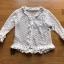 เสื้อคลุมผ้าลูกไม้ตกแต่งระบายสีขาว thumbnail 5
