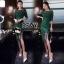 Dress เรียบหรูโทนสีเขียว thumbnail 2