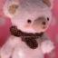 ตุ๊กตาหมีผ้าขนสีขาวขนาด 12.5 cm.- Cake (walk) thumbnail 4