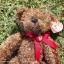 หมีเท็ดดี้สีน้ำตาลเข้ม สูง 31 ซม. thumbnail 2