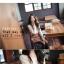 R.J.Story เสื้อแฟชั่นเกาหลีแขนปีกค้างคาวสีครีมแต่งด้วยผ้าโครเชเนื้อผ้าใส่สบายนะค่ะ thumbnail 5
