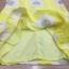mini dress สีเหลืองแขนกุด ปักลายดอกไม้สีเหลือง thumbnail 8