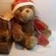 หมีนั่งสีน้ำตาล ขนาด 21 ซม. thumbnail 1