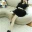 ชุดเดรสแฟชั่นเกาหลีแขนยาวสีพื้นมี2สีนะค่ะ thumbnail 12