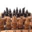 ชุดกระดานหมากรุกไทยไม้ก้ามปูพกพาพร้อมตัวหมากชุดใหญ่ (ขนาด38.5x42 cm) thumbnail 4