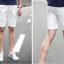กางเกงขาสั้นผู้ชายเอวยางยืด thumbnail 7