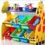 ชั้นวางของ ที่เก็บของเล่นเด็ก ยีราฟ (Giraffe Keeping Toy) ขนาดทั้งหมด กว้าง 83 ซ.ม. x สูง 80 ซ.ม. x ลึก 30 ซ.ม สำเนา thumbnail 1
