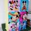 ตู้ DIY ลายการ์ตูน Micky Mouseข้างตู้มี ข้างตู้มีสีชมพู//ฟ้า//แดง/ขาวใสลายเส้นขนาดช่องละ 37x37 ซม. รับน้ำหนักได้ช่องละประมาณ 10-15 กิโลกรัม (ขนาด 12 และ 16 แถมชั้นวางรองเท้า) thumbnail 1