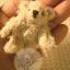 ตุ๊กตาหมีผ้าขนสีครีมขนาด 5 cm. - BB bear thumbnail 6
