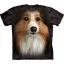 The Mountain Big Face Sheltie Dog T-Shirts thumbnail 1