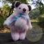 ตุ๊กตาหมีขนสีชมพูขนาด 16 ซม. - DoBear thumbnail 2