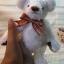 ตุ๊กตาหมีผ้าขนยุ่งสีขาวขนาด 20 cm. - Friday thumbnail 6