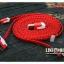 สายชาร์จ 3 หัว iPhone4/4s , iPhone5 , Samsung 1 เมตร เชือกถัก thumbnail 2