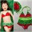 หญิง ชุดว่ายน้ำเด็กหญิง ลายแตงโม มี size สำหรับ 2-6 ขวบ ใช้แล้วซักตาก ห้ามแช่ เพื่อยืดอายุการใช้งานค่ะ) thumbnail 1